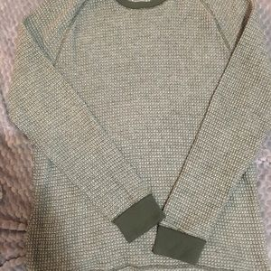 Old Navy Green Long Sleeved Thermal